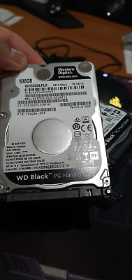 "WD Black WD5000LPLX 500GB 2.5"" 7.2K Performance HDD. Warranty Free Shipping"
