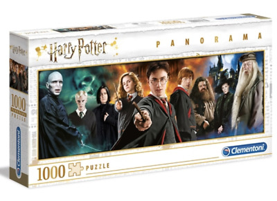 Clementoni Panorama Harry Potter Classic 1000 Pieces Jigsaw Puzzle