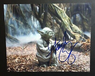 Star Wars Empire Strikes Back Autographed Frank Oz Authentic Signed Awesome!!!