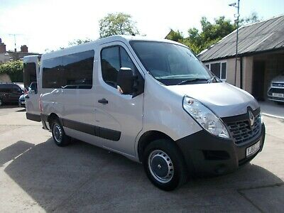 Wheelchair Accessible Wav Disabled 2016 66 Renault Master Sl28 4 Seats And 6K !