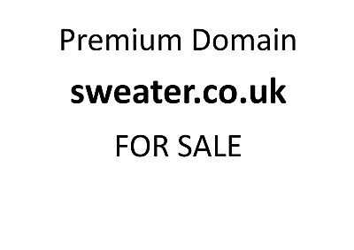 Premium Domain Name sweater.co.uk Short highly searched keyword ...