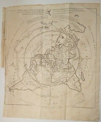 1757 A Physical Planisphere Of The Globe.       E041
