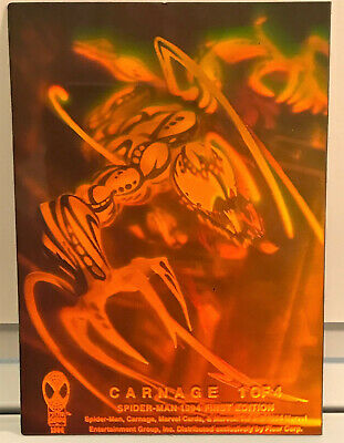 1994 Marvel Carnage Holographic insert card