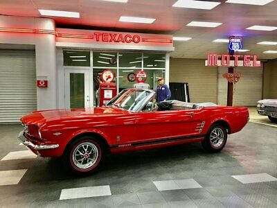 1966 Ford Mustang  1966 Ford Mustang Convertible