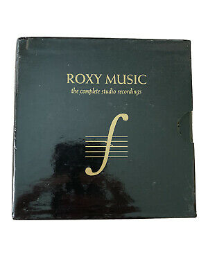 Roxy Music The Complete Studio Recordings 10 CD Box Set Bryan Ferry 2012 VG++