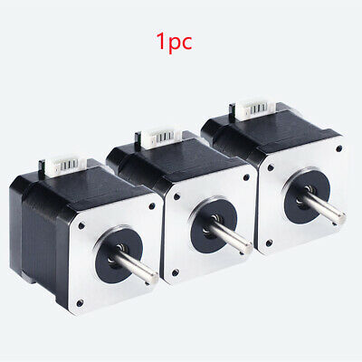 Stepper Motor Accessories 4 Lead Insulated Smooth 3D Printer Parts Nema17 Router