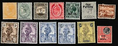 Malta Early Mint Lot (Better Condition Than Usual)