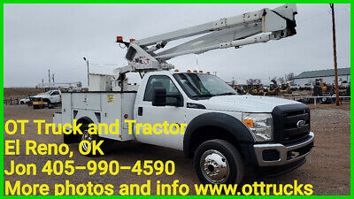 2011 Ford F-550 2wd 45ft Insulated Bucket Truck 6.7L Diesel Hi Ranger 9ft Bed