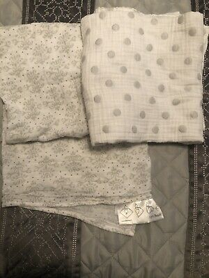 Two! Swaddle Designs Light And Soft blankets Multi Purpose