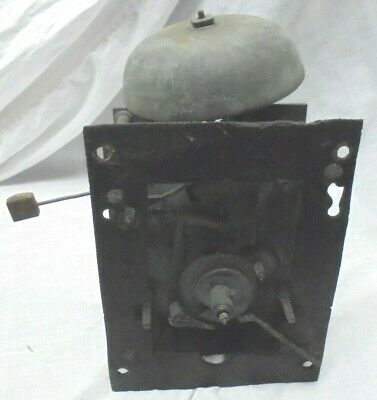 Antique England Tall Case Grandfather Clock Movement Parts or Repair
