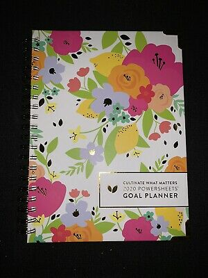 2020 Powersheets Goal Planner From Cultivate What Matters