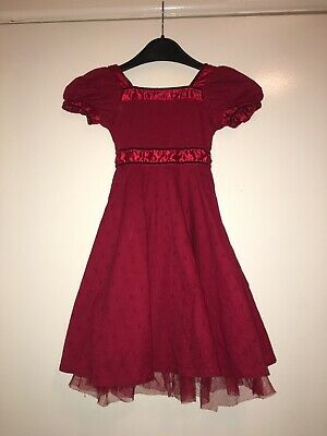 Children's Red Dress By Heaven & Angels