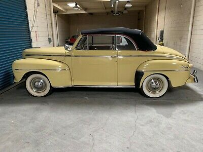 1948 Ford Super Deluxe Leather 1948 FORD CONVERTIBLE — HIGH POINT CAR — MANY ACCESSORIES INCLUDING COLUMBIA