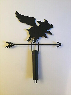 Frito Lay Flat Earth Promotional Flying Pig Weather Vane. Very Rare