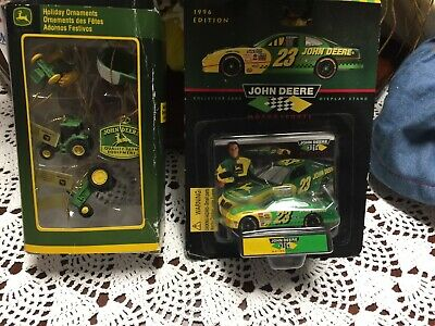 John Deere And Holiday Ornaments
