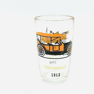 Ford And Chevrolet Tall Shot Glass