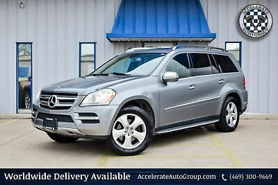 2010 Mercedes-Benz GL 450 CLEAN CARFAX 4MATIC NAV BACKUP CAM LOADED NICE! 469-300-9669
