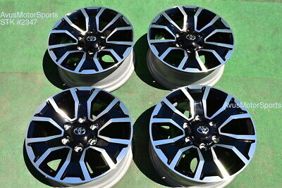 "17"" TOYOTA TACOMA OEM FACTORY TRD SPORT WHEELS 4runner Tundra 2020"