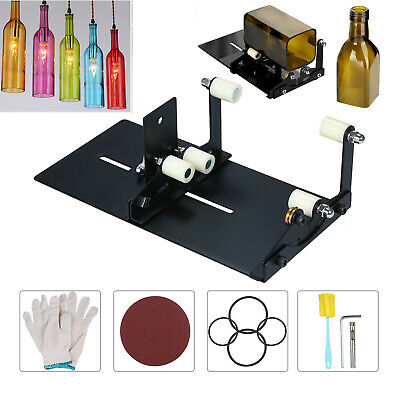 UK Glass Bottle Cutter Upgrade Version Square&Round Wine Beer Glass Cutting Tool