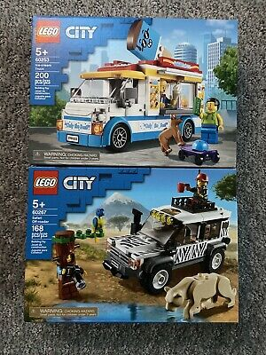 Lego Ciry Lot Of 2 (60253 & 60267). New In Sealed Box.