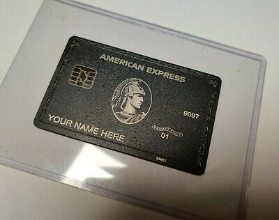 New 2020 Style American Centurion Black Express Card Amex