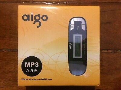 Aigo A208 1GB Black MP3 Player New & Sealed