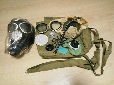 Military GAS MASK PMK-2 Soldier Russian Army Size-2 USSR