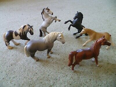 SCHLEICH Horse Bundle x 6 - All different