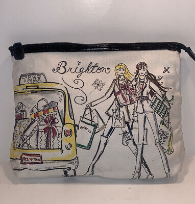 Brighton large insulated cosmetic makeup bag pouch