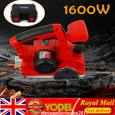 Wall Chaser Electric Wall Groove Cutting Machine for Brick Wall 220V 1600W UK