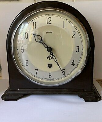 WW2 Smiths Military Bakelite Mantle Clock