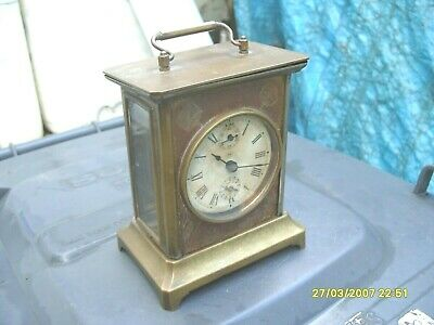 Mantel  Clock Seth Thomas Alarm Clock Working  See Video