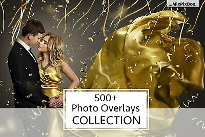 Photoshop MAGICAL PHOTO OVERLAYS, BACKDROPS, BACKGROUNDS 500+