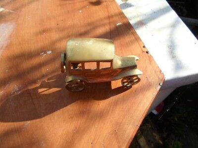brass car approx 5 inch long very collectable !!