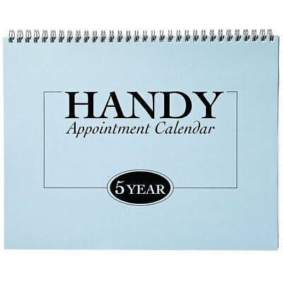 5 Year Appointment Calendar 2020-2024