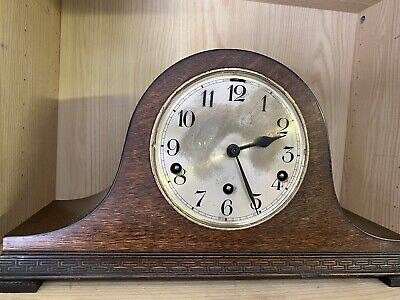 Classic 1930s Art Deco Chiming Mantle Clock