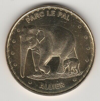 A 2014 Token Medaille Monnaie De Paris -- 03 290 N°6 Le Pal / Elephants