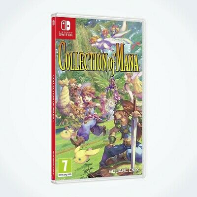 Collection of Mana sur Nintendo SWITCH / Neuf / Sous Blister / Version FR