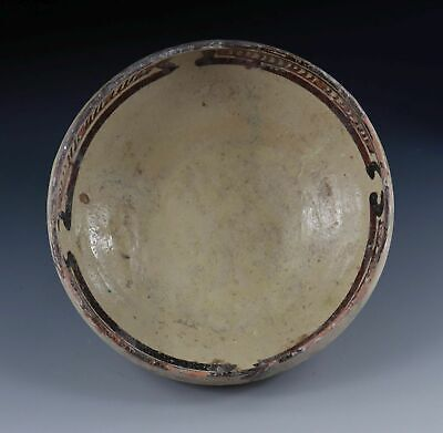 *SC*AN ATTRACTIVE ISLAMIC, NISHAPUR POTTERY BOWL, 11th-2th cent AD!