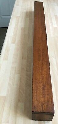 Antique Wooden Violin Bow Holder For 2 Bows