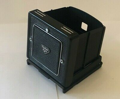 Rolleiflex Middle Format Rollei Folding Hood With Magnifier Rare Spare Part