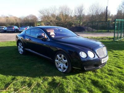 2004 Bentley Continental GT W12 6.0L Auto twin turbo 4x4