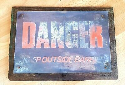 Vintage Sign From A Zoo
