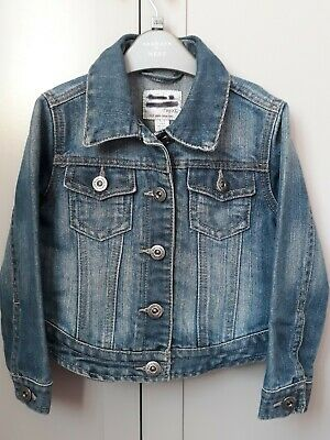 Girls Next Denim Jacket 3-4 Years
