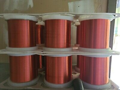 Magnet wire Elektrisola 0.055 P155 Red