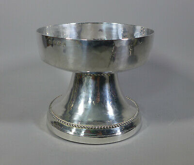 Fine Vintage Hallmarked Sterling Silver Arts & Crafts Planished Bowl Birm. 1937