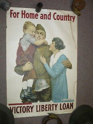 WW1 Original US poster