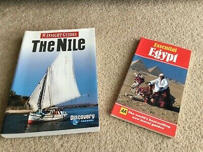 2 Great Egyptian Travel Books - in excellent condition