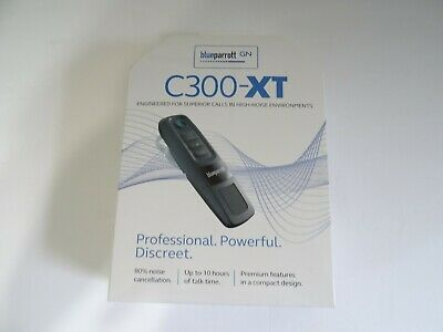 BlueParrott C300-XT Noise Canceling Wireless Bluetooth Headset Black
