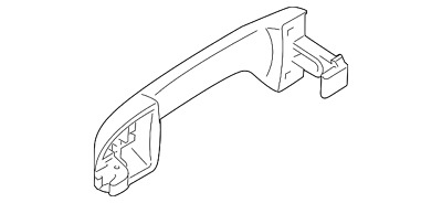 Genuine Ford Handle Outside 2T1Z-6122404-A